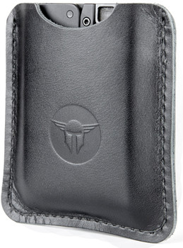 TRAILBLAZER LIFECARD LEATHER SLEEVE BLK