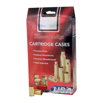 Hornady 86289 Unprimed Cases  26 Nolser