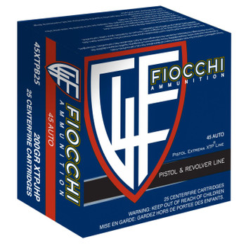 Fiocchi 45Acp 200 Grain Weight XTP 25/500