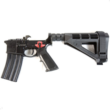 Franklin Armory BFSIII Equipped SE-SSP Complete AR15 Pistol Lower Receiver - Black