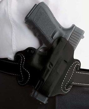 Desantis Mini Slide Holster OWB RH Lther M&P Shld