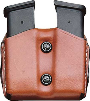 Desantis Double MAG Pouch OWB Leather SIG P365 TAN