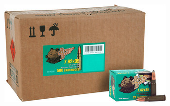Brown Bear Bear 7.62X39 125Gr. SP Polymer Coated 5