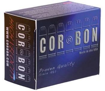 Corbon Ammo 10Mm Auto 135Gr. JHP 20-Pack SD1013520