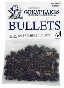 Great Lakes Firearms & Ammo Lakes Bullets .32 Cal.