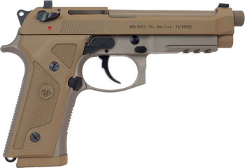 BERETTA BERETTA M9A3 G 9MM NS 17-SHOT THREADED TAN ITALY