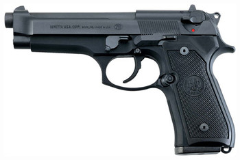 "BERETTA BERETTA 92FS 9MM 4.9"" FS 10-SHOT BLUED BLACK POLY ITALY"