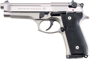 BERETTA BERETTA 92FS 9MM FS 3-DOT 10-SHOT INOX CA COMPLIANT