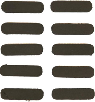 Guntec USA Rubber Insert Covers 10Pk M-Lok Black