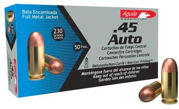 Aguila 45Acp 230 Grain Weight FMJ 50/1000 1E452110