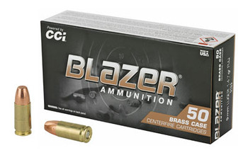 Blazer Ammunition Blazer 9MM 147Gr Box/50 5203
