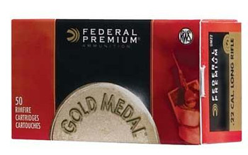 Federal PRM Match 22Lr 40 Grain Weight 50/5000