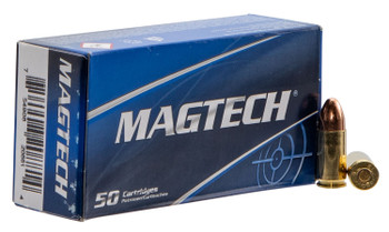 Magtech 9NATO Sport Shooting Pistol & Revolver Cartridges  9mm Luger 124 GR Full Metal Jacket 50 Bx/ 20 Cs