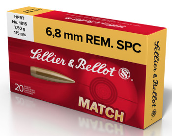 Sellier & Bellot Sb68d Rifle   6.8 REM SPC 115 GR