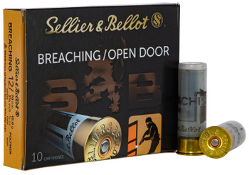 "Sellier & Bellot SB12BR Shotgun Breaching  12 Gauge 2.75"" 1/2 oz 10 Bx/ 25 Cs"