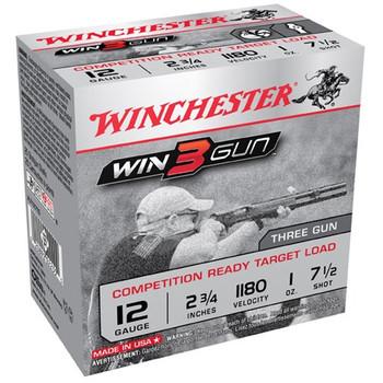 """Winchester 3Gun 12Ga 2.75"""" #7.5 25/250 XLT127TG"""