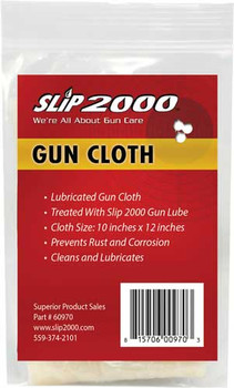 "Slip 2000 2000 GUN Cleaning Clothe 10""X12"" 60970"