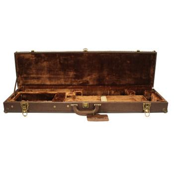 Sportlock GUN Case Takedown O/U Faux Leather Brown