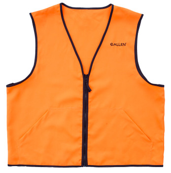 Allen Deluxe Hunting Vest Orange Large 2 Front POC
