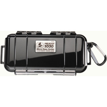 PELICAN PRODUCTS PELICAN 1030 Micro Case Black with Black Lid
