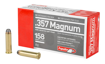 Aguila 357Mag 158 Grain Weight Sjsp 50/1000