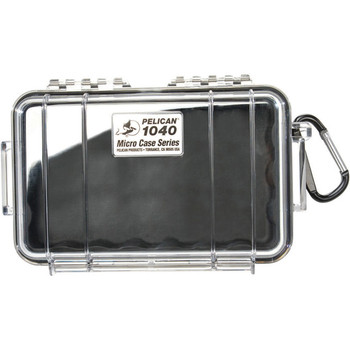 PELICAN PRODUCTS PELICAN 1040 Micro Case Black with Black Lid