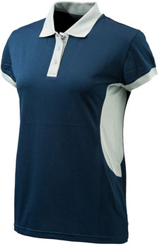 Beretta Women's Silver Pigeon Polo Medium Blue NAV