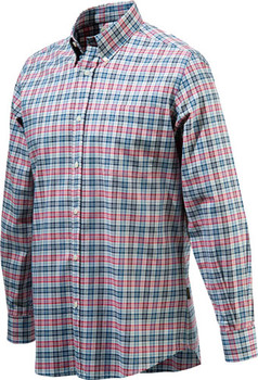 Beretta Men's Drip DRY Long Sleeve White Fancy MED