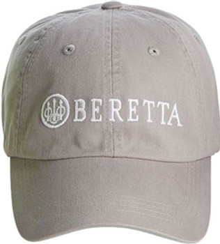 Beretta  CAP  Logo Cotton Twill Navy Grey