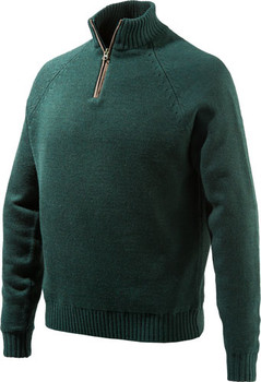 Beretta Men's Windproof Sweater 1/2 ZIP Medium DK