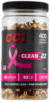 CCI Cln-22 Pink HV 22Lr 40Gr BTL 400 955CC