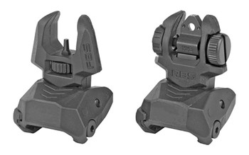 MEPROLT FLIP UP SIGHTS FRONT/REAR