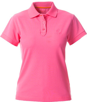 Beretta Women's Corporate Polo HOT Pink Small W/Tr