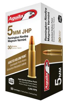 Aguila 5MM JHP 30Gr 50/20 1B222406