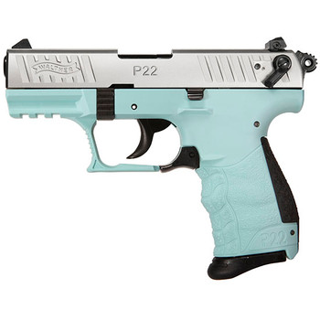 "WAL P22q 22Lr 3.4"" Angel Blue 10Rd 5120760"