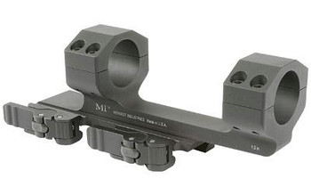 """Midwest Industries INC Miqd1sm Quick Detach 1-Pc Base & Ring Combo 1"""" Black Finish"""