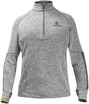 Leupold 1/2 ZIP Pullover Covert Gray Heather Xx-La