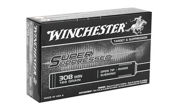 WINCHESTER SUP SUPPRESD 308 180G FMJ 20BX
