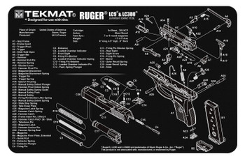 Tekmat Pistol MAT Ruger LCP BLK R17-RUGERLCP