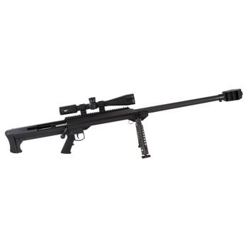 """Barrett 99 50Bmg 32"""" BLK W/ Scope 18641"""