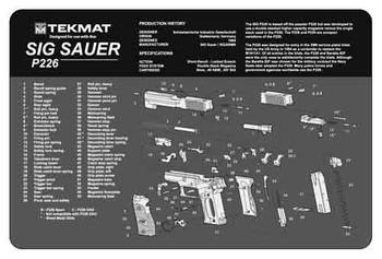 Tekmat Pistol MAT SIG P226 BLK R17-SIGP226