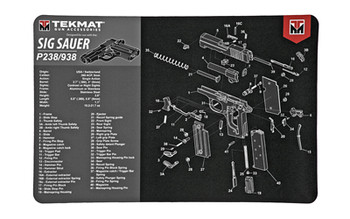 Tekmat Pistol MAT SIG P238 BLK R17-SIGP238