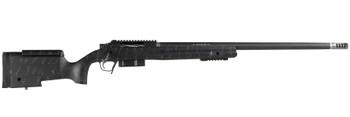 "Christensen Arms BA TAC 338Norm Blk/Gry 26"" TB"