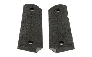 Ergo Grip Xtro Officers 1911 Grips Hard Rubber BLA