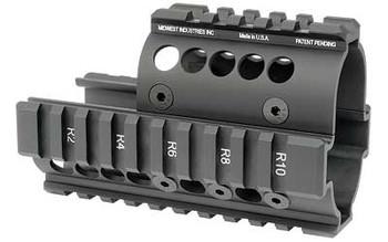 Midwest Industries Mini Draco Pistol Quad Rail BLA
