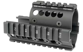 Midwest Industries Mini Draco Pistol Quad Rail BLA