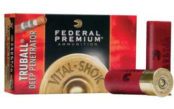 "Federal PRM 12Ga 2.75"" Rifled Slug 5/Box"