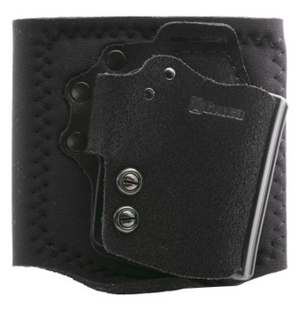 Galco Ankle Guard Holster RH Hybrid Leather Glock