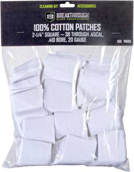 "Breakthrough Cleaning Patches 2 1/4"" Square .38-.4"