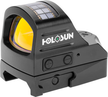 HOLOSUN OPEN REFLEX 32MMX24MM 3 RETICLE QD 32MOA CRCL GREEN